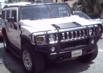 Hummer H2 salvaged parts
